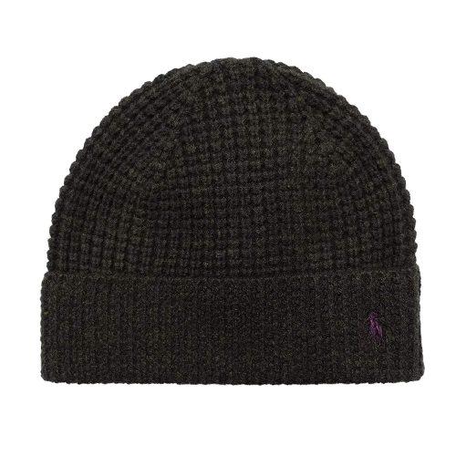 ポロラルフローレン(Polo Ralph Lauren) Waffle-Knit Merino Wool Hat