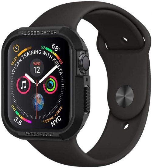 シュピゲン(Spigen) Apple Watch Series 5/4 44mm ケース ラギッドアーマー