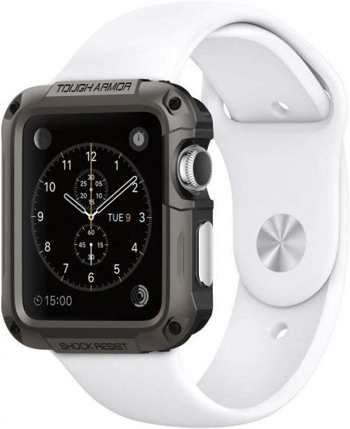 シュピゲン(Spigen) Apple Watch Series 3/2 42mm ケース タフアーマー