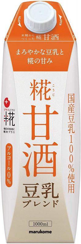 マルコメ プラス糀 米糀からつくった糀甘酒LL 豆乳ブレンド