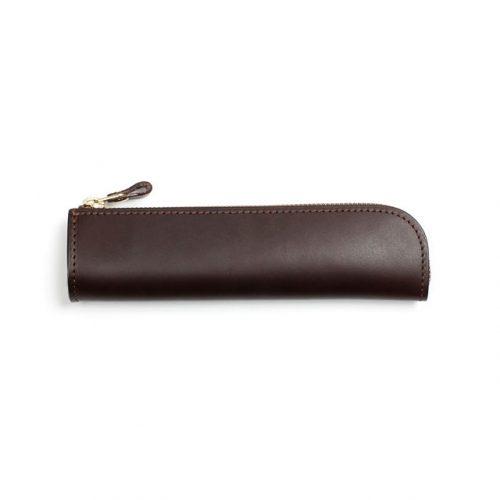 土屋鞄製造所 ナチューラ ヌメ革ファスナーペンケース