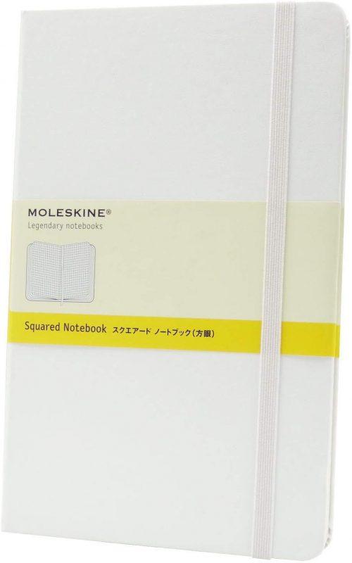 モレスキン(MOLESKINE) ラージサイズ スクエアード ノートブック QP061WH