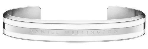 ダニエル・ウェリントン(Daniel Wellington) クラシックバングル Satin White Silver