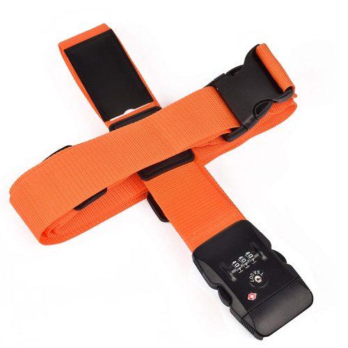 クロース(Kroeus) スーツケースベルト 十字型 ロック搭載ベルト