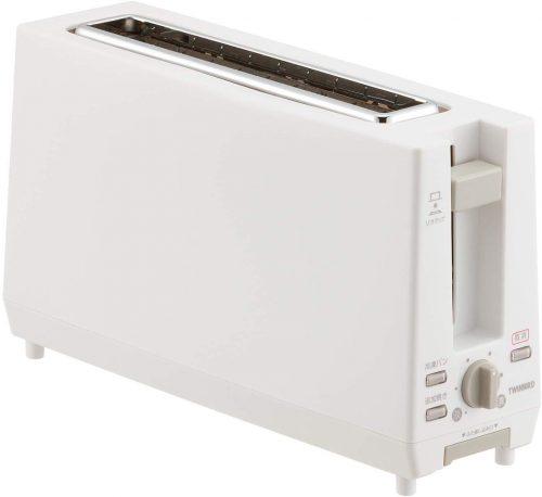 ツインバード工業(TWINBIRD) スリムポップアップトースター TS-D404W