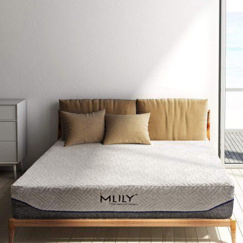 エムリリー(MLILY) 優反発ポケットコイルベッドマットレス ダブルS-MU65190