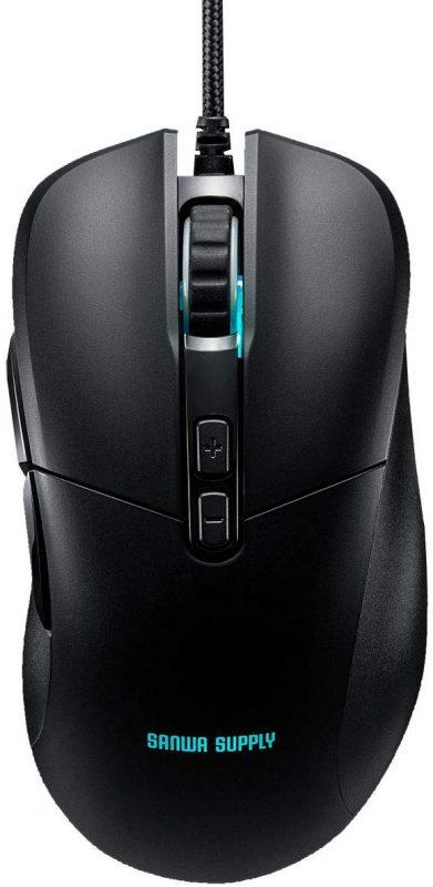 サンワダイレクト(SANWA DIRECT) ゲーミングマウス 400-MA112
