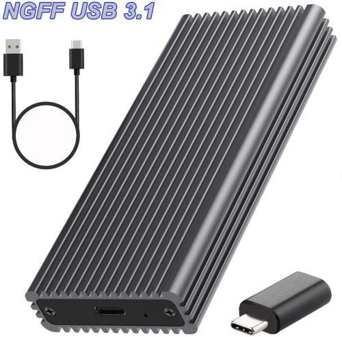 安心ショップ M.2 SSD ケース ngff-01