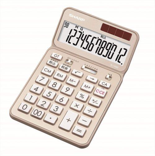 シャープ(SHARP) カラー・デザイン電卓 プレミアムモデル EL-VN82