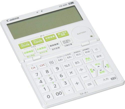 キヤノン(Canon) 金融電卓 FN-600