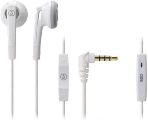 オーディオテクニカ(audio-technica) スマートフォン用インナーイヤーヘッドホン ATH-C505iS