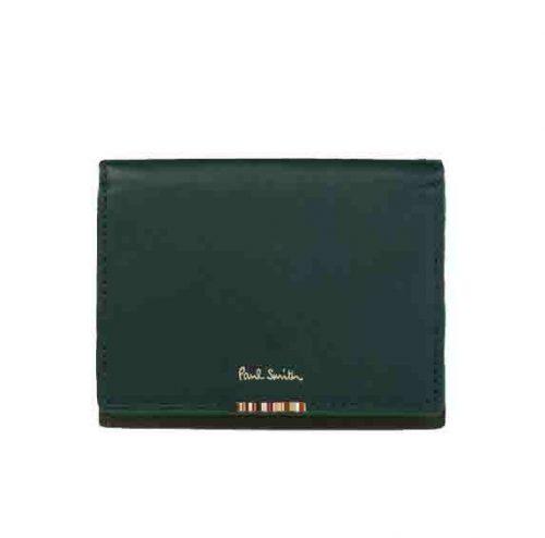 ポールスミス(Paul Smith) マルチストライプタブ 三つ折り財布 873729 P112