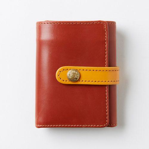 グレンロイヤル(GLENROYAL) グレイスコレクション TRIFOLD SMALL WALLET WITH TAB コンパクト三つ折り財布