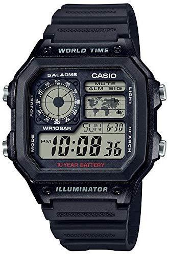 カシオ(CASIO) 腕時計 スタンダード AE-1200WH-1AJF