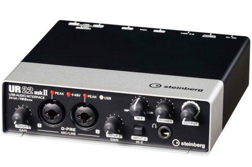 スタインバーグ(Steinberg) オーディオインターフェイス UR22mkII