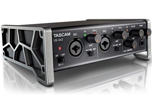 タスカム(TASCAM) USBオーディオインターフェイス US-2×2-CU