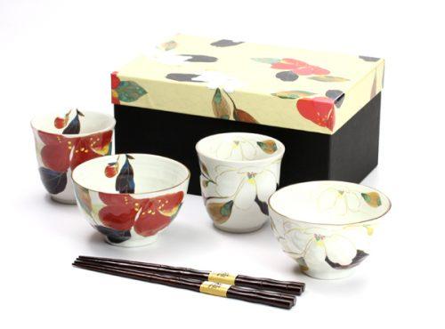 LUEN 夫婦箸・夫婦茶碗6点セット