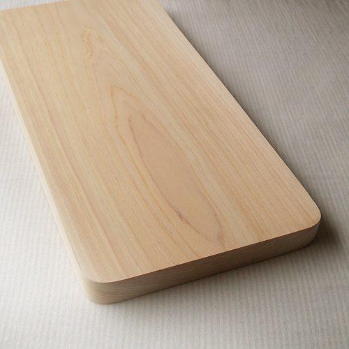 四国加工 ひのき 一枚板 まな板 「かどまる」