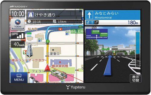 ユピテル(YUPITERU) ポータブルカーナビ WNB75ML