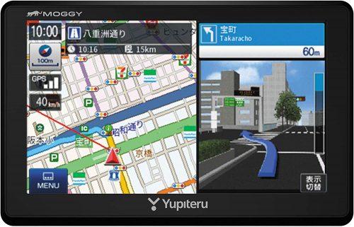 ユピテル(YUPITERU) ポータブルカーナビ WNL55ML