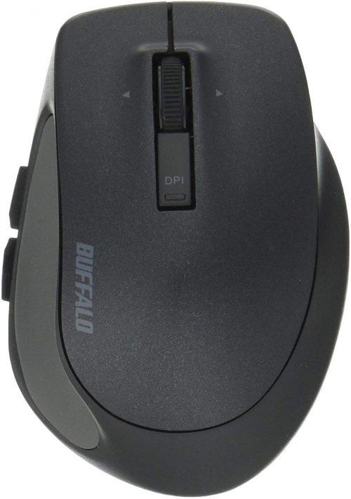 バッファロー(BUFFALO) Bluetooth BlueLED プレミアムフィットマウス S BSMBB505SBK