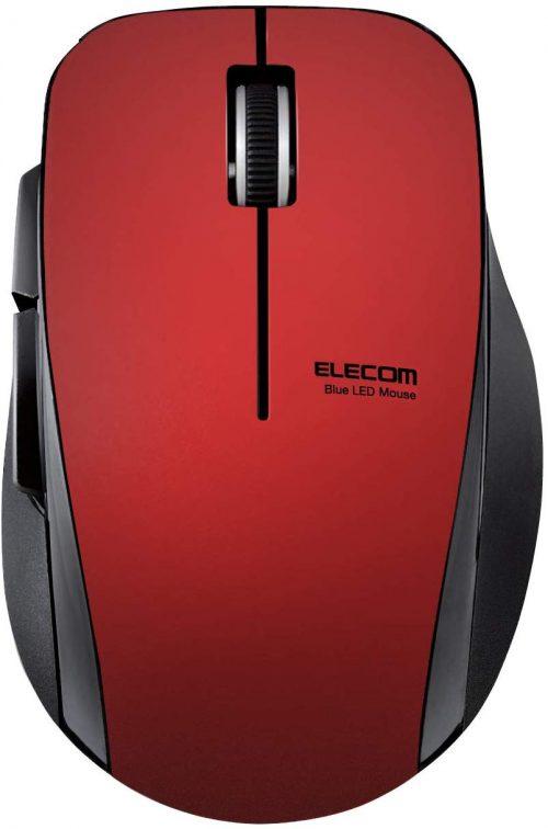 エレコム(ELECOM) 5ボタン無線静音マウス M-FBL01DBXS