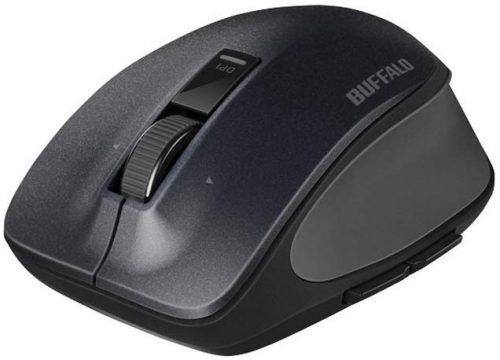 バッファロー(BUFFALO) プレミアムフィットマウス BSMBW505MBK