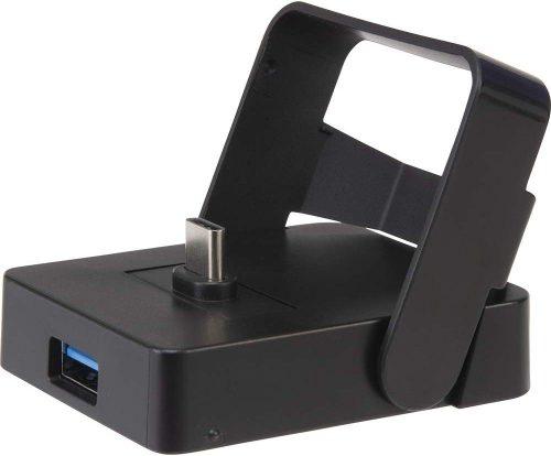 サイバーガジェット(CYBER Gadget) CYBER・USBポート付きミニ充電スタンド SWITCH用 CY-NSUMCHS