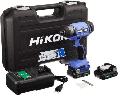 ハイコーキ(HiKOKI) 10.8V コードレスインパクトドライバ FWH12DAL