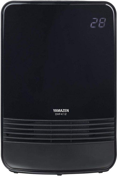 山善(YAMAZEN) 室温センサー付セラミックヒーター DHF-K12