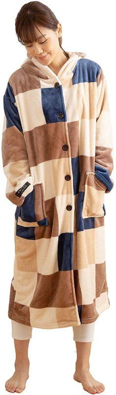 ナイスデイ mofua プレミマムマイクロファイバー着る毛布