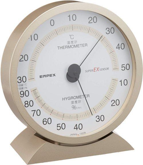 エンペックス気象計 温度湿度計 スーパーEX EX-2718