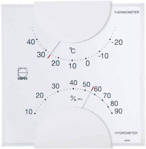 エンペックス気象計 温度湿度計 エルム LV-4901