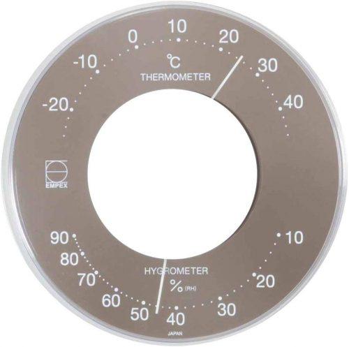 エンペックス気象計 温度湿度計 セレナ LV-4357