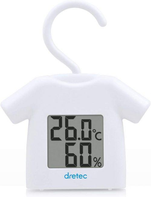 ドリテック(DRETEC) 温湿度計 O-279WT