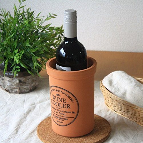 セラポッケ(cerapockke) 気化熱で保冷のできる陶器製ワインクーラー