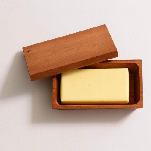ダスホルツ(Das Holz) バターケース ブラックチェリー