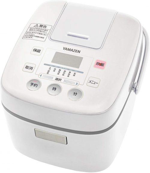 山善(YAMAZEN) 炊飯器 3合 マイコン式 YJC-300