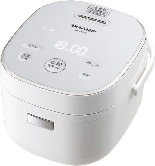 シャープ(SHARP) パン調理機能付 ジャー炊飯器 3合炊き KS-CF05A