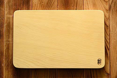 前川榧碁盤店 榧(かや)のまな板 角丸 大