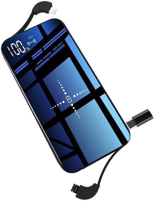 XTXM-JP Qi 薄型モバイルバッテリー 10000mAh