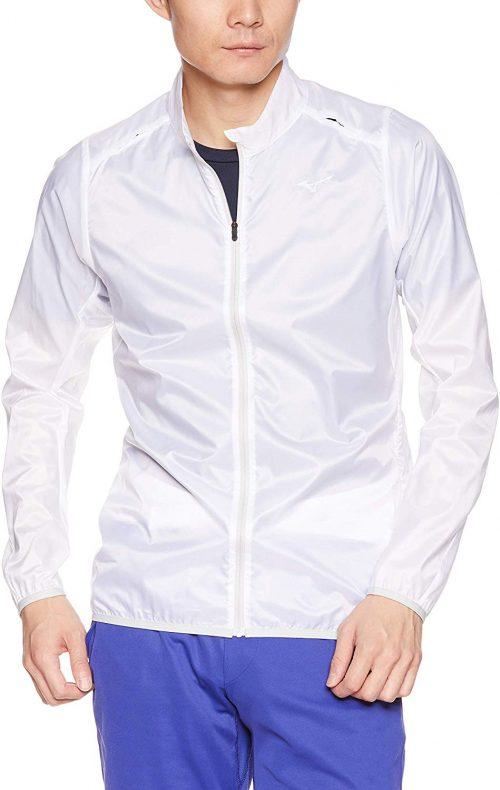 ミズノ(MIZUNO) ランニングウィンドブレーカーシャツ ポーチジャケット