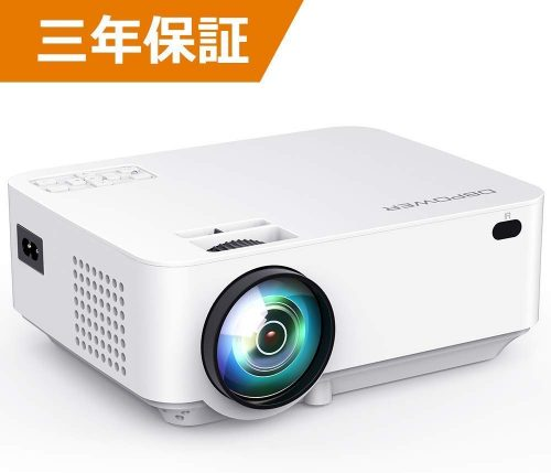 DBPOWER プロジェクター 3000lm 1080P対応