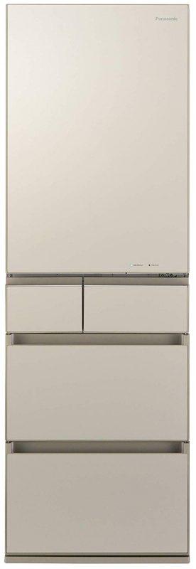 パナソニック(Panasonic) 冷蔵庫 5ドア 450L 微凍結パーシャル搭載 NR-E455PX