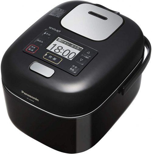 パナソニック(Panasonic) 炊飯器 3合 圧力IH式 Wおどり炊き SR-JW058