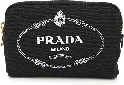 プラダ(PRADA) 1NA021 20L CANAPA LOGO キャンバス コスメ ポーチ
