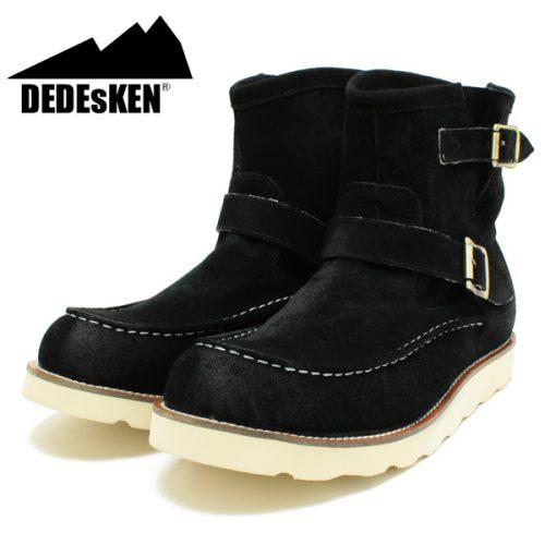 デデスケン(DEDEsKEN) モカシントゥショートペコスブーツ