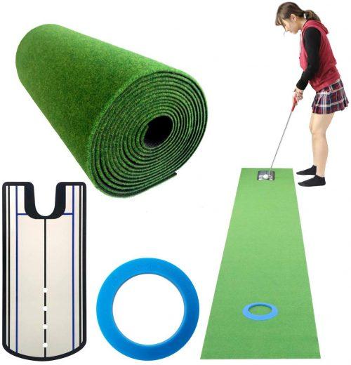 Danact ゴルフ練習パターマットセット