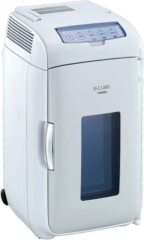 ツインバード工業(TWINBIRD) 2電源式ポータブル電子適温ボックス D-CUBE L HR-DB07GY