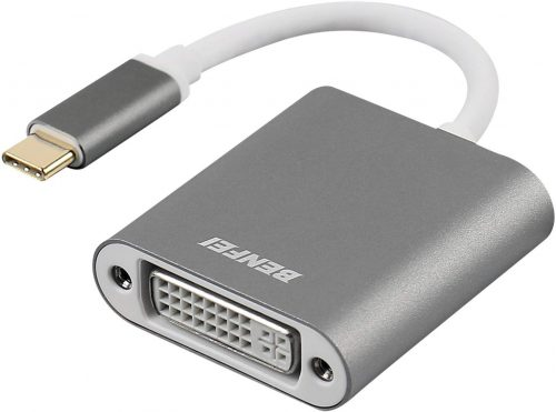 Benfei USB Type-C(Thunderbolt 3) DVIアダプター